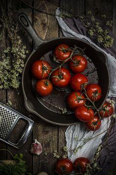 Pomodori ripieni di carne- Stuffed tomatoes
