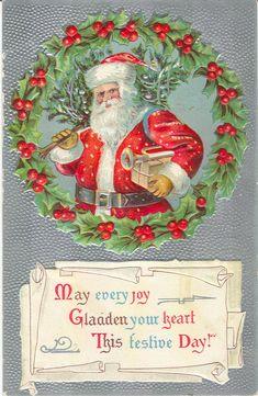 Santa Claus Vintage 34, Free Desktop Wallpapers, Cool Wallpapers