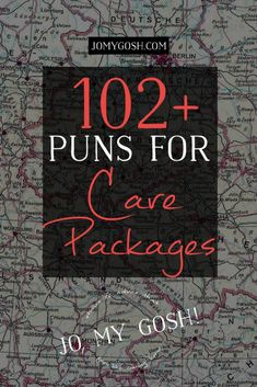 Puns for Care Packages List of puns to use for care packages. Love this & saving it!List of puns to use for care packages. Love this & saving it! Missionary Care Packages, Deployment Care Packages, Military Care Packages, College Care Packages, Missionary Mom, Navy Care Packages, Care Package College, Chemo Care Package, Cancer Care Package