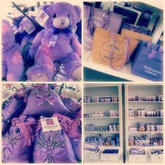Lavender products from the Bridestowe Estate Gift Shop.