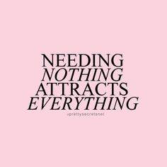 """Needing nothing attracts everything."" Bob Marley Quotes"