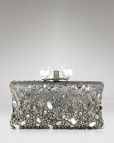 Overture Judith Leiber Clutch - Concave Side Rectangle | Bloomingdale's