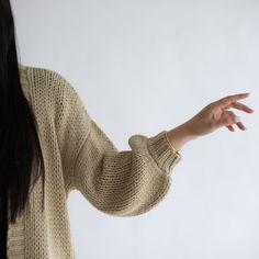 Bodi Cardigan - Neutral – beiged Hygge, Neutral, Fall Winter, Wool, Knitting, Fashion, Moda, Tricot, Fashion Styles