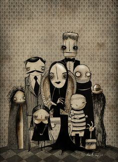 Love The Addams Family and love this - by Chavetta Lepipe, via Flickr