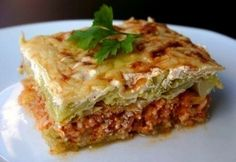 16 sajtos-tejfölös egytálétel, amivel nem tudsz betelni | NOSALTY European Dishes, Hungarian Recipes, Hungarian Food, Lasagna, Meal Planning, Bacon, Food And Drink, Meals, Vegetables
