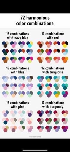 Color psychology meaning of Yarn Color Combinations, Colour Schemes, Color Patterns, Paint Color Palettes, Color Psychology, Psychology Meaning, Psychology Studies, Color Balance, Color Pallets
