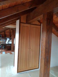 Armoire en mélèze Armoire, Furniture, Home Decor, Clothes Stand, Decoration Home, Closet, Room Decor, Reach In Closet, Home Furnishings