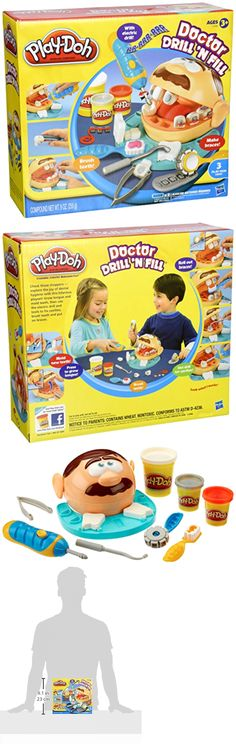 Play-Doh Modeling Clay 11740: Play Doh Doctor Drill N Fill Playdough Hasbro Toys Dr Dentist Toy Gift Kids Fun -> BUY IT NOW ONLY: $63.11 on eBay!