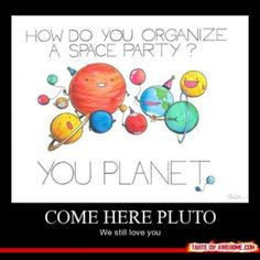 Image Gallery jokes about planets
