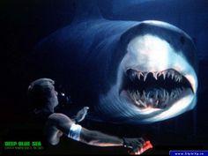 Shark study can be hazardous (Deep Blue Sea) fun movie