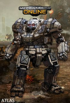 Played Battletech for the first time ever - used an Atlas. It was more fun than I care to admit.