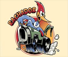 Shop Rachador woody woodpecker t-shirts designed by as well as other woody woodpecker merchandise at TeePublic. Cartoon Kunst, Cartoon Art, Car Drawings, Cartoon Drawings, Mandilon Memes, Rat Look, Woody Woodpecker, Classic Cartoons, Beach Art