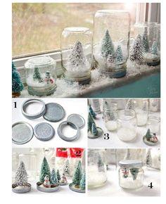 DIY_snow globes