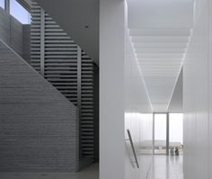 The interior stairwells, Burren House, Niall McLaughlin Architects