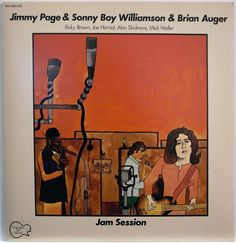 JIMMY PAGE & SONNY BOY WILLIAMSON & BRIAN AUGER / JAM SESSION / RVC JAPAN PROMO