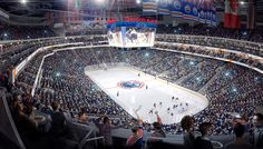 Largest High Definition Scoreboard for NHL at Rogers Place