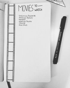 8 collection and list ideas for your Bullet Journal - Planning Routine Bujo tracker Bullet Journal Inspo, How To Bullet Journal, Wreck This Journal, My Journal, Journal Pages, Journal Ideas, Bellet Journal, Journal Layout, Smash Book