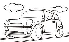 Araba Boyama sayfası, araba boyama sayfaları yazdır, çıkar, Car coloring pages, Páginas para colorear de coches, Автомобильные раскраски.