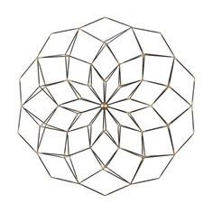 Shop Uttermost  04028 Dorrin Geometric Floral Art at ATG Stores. Browse our metal art, all with free shipping and best price guaranteed.