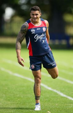 Sonny Bill Williams Photo - Sydney Roosters Training Session