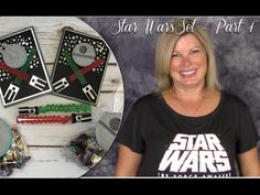 "PART 1: videos: How to make a Star Wars Theme Party Pack crafts. do it yourself star wars. stampin up. card ideas. ——— STAMPIN UP S U P P L I E S ———  • Gusseted Cellophane Bags #133770 • 1"" X 8"" Cellophane Bags #124134 • Be The Star Clear-Mount Stamp Set #135734 • Silver Foil Sheets #132178 • Basic Black Archival Stampin' Pad #140931 • Basic Black 8-1/2X11 Card Stock #121045 • Basic Gray 8-1/2X11 Card Stock"