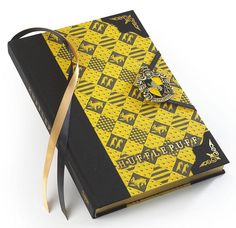 An extremely official-looking journal that will become the only thing you'll want to take your notes in. | 31 Spot-On Gifts For The Hufflepuffs In Your Life