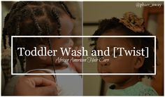 I recently blogged about Madison's Hair Care Regimen and the list of products that I currently use now that she's two years old.  To further elaborate on what our regimen consists of I wanted to talk about wash days and how they look for us. | Pharr Away