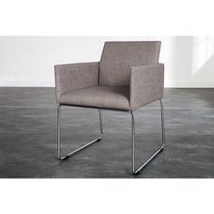 Moderne stoel Livorno grijs - 22167