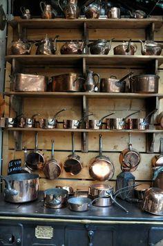Rejuvenation Copper: copper kitchen
