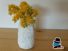 Kreattivablog: Vasetto con pasta modellabile al bicarbonato