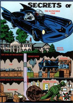 Batcave 1968 - A trophy room would be an excellent idea