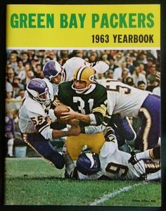 VINTAGE 1963 GREEN BAY PACKERS YEARBOOK MINT CONDITION | eBay Nfl Playoffs, Nfl Football Teams, Football Cards, Baseball Cards, Go Packers, Green Bay Packers Fans, Nfl Green Bay, National Football League, Wisconsin
