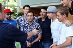 New Kids on the Block and Backstreet Boys at The Voice at Children's Healthcare of Atlanta