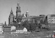 Wawel, Kraków - 1938 rok, stare zdjęcia