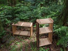 Second Nature, meubles en bois par la designer Chialing Chang - Journal du Design