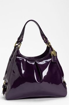 COACH 'Madison Maggie' Patent Leather Hobo | Nordstrom - cute handbags for cheap, handbags and purses online, purses wholesale *sponsored https://www.pinterest.com/purses_handbags/ https://www.pinterest.com/explore/purse/ https://www.pinterest.com/purses_handbags/handbags/ https://www.amazon.com/Handbags/b?ie=UTF8&node=15743631
