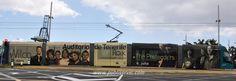 El soporte para publicidad exterior más visto de Publiservic Canarias el Tranvía de Tenerife, ¿te atreves para anunciar a tu empresa? Contacta con Publiservic Canarias comercial@publiservic.com al teléfono en España +34 922-64-68-24 #rotulacion #vehiculo #tranvia #publiservic