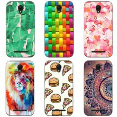 Soft TPU Cases for ZTE Blade L110 Case Fashion Colorful Pattern Silicone Mobile Phone Case for ZTE Blade L110 COVER