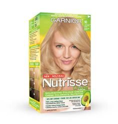 Home hair colour pick: Garnier Nutrisse Cream http://beautyeditor.ca/2013/09/27/how-to-go-blonde-at-home/