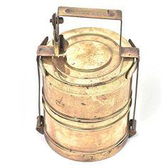 IndianShelf Handmade Vintage Brass Tiffin Box with Two Co... https://www.amazon.com/dp/B075QH6ZDK/ref=cm_sw_r_pi_dp_U_x_MZhmAbR7YVBMV