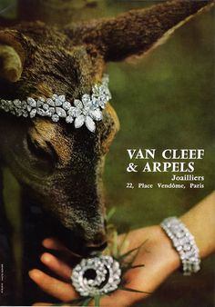 The French designer Van Cleef & Arpels is known for jewelry set with precious stones, particularly using their proprietary mounting technique knows as the ...