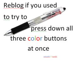 I vent had one with like 10 colors on it. I use to draw with it and watch Full House as a kid all the time!