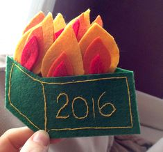 Step-by-step guide to making a dumpster fire ornament for 2016