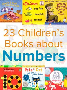 Is your child learning numbers and counting? Books are a great way to start. Read these 12 children's books about numbers and counting.