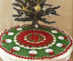 Veronica crochet y tricot...: Pañitos de Navidad