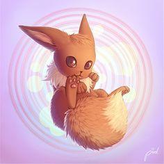 Eevee, number three favorite Pokemon!