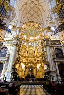 Catedral de Granada. Capilla mayor - Wikipedia, la enciclopedia libre