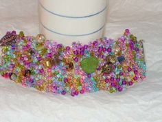 Summer - Hand Knitted Wire Bracelet
