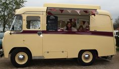 Audrey our lovely newly converted vintage catering van.