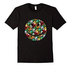 Amazon.com: Smile Face Skull Collage T-Shirt: Clothing
